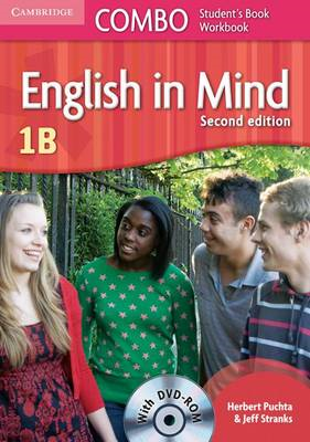 English in Mind Level 1b Combo B with DVD-ROM (BOK)