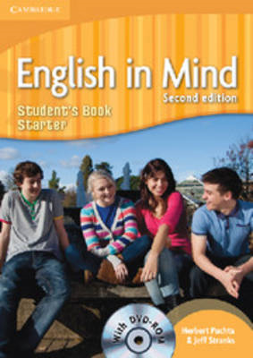 English in Mind Starter Level Student's Book with DVD-ROM (BOK)