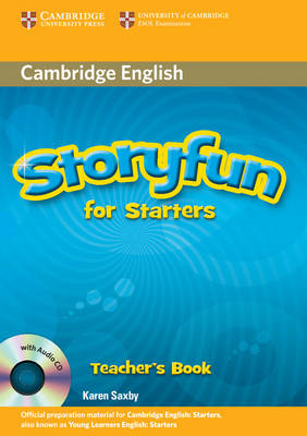 Storyfun for Starters Teacher's Book with Audio CD (BOK)