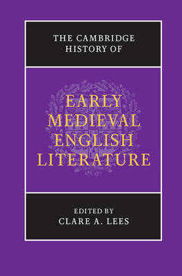 The Cambridge History of Early Medieval English Literature (BOK)