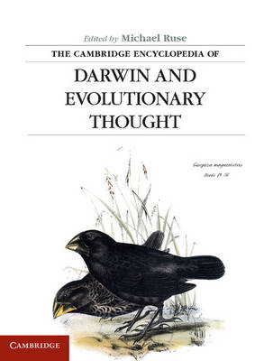 The Cambridge Encyclopedia of Darwin and Evolutionary Thought (BOK)
