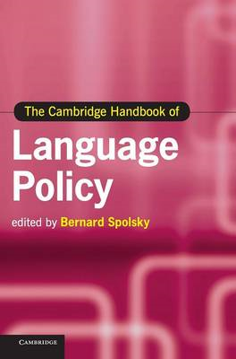 Cambridge Handbook of Language Policy (BOK)