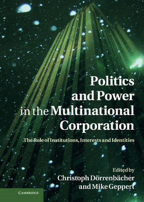 Politics and Power in the Multinational Corporation (BOK)