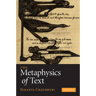 Metaphysics of Text (BOK)