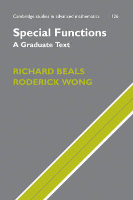 Special Functions: A Graduate Text (BOK)