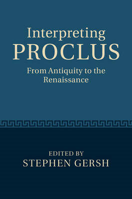 Interpreting Proclus (BOK)