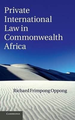 Private International Law in Commonwealth Africa (BOK)