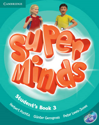 Super Minds Level 3 Student's Book with DVD-ROM (BOK)