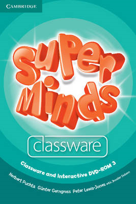 Super Minds Level 3 Classware and Interactive DVD-ROM (BOK)