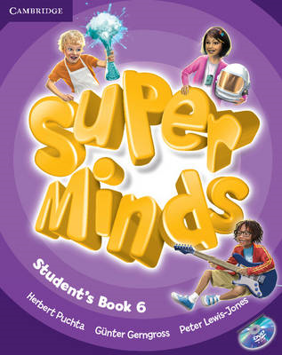 Super Minds Level 6 Student's Book with DVD-ROM (BOK)