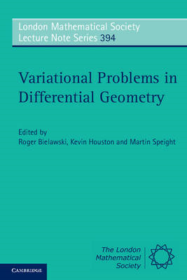 Variational Problems in Differential Geometry (BOK)