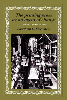 Printing Press as an Agent of Change (BOK)