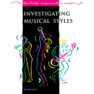 Investigating Musical Styles (BOK)
