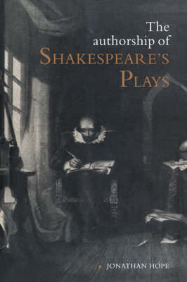 Authorship of Shakespeare's Plays (BOK)