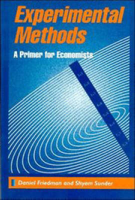 Experimental Methods: A Primer for Economists (BOK)