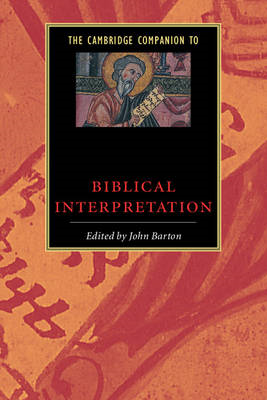 Cambridge Companion to Biblical Interpretation (BOK)