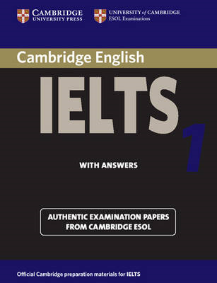 Cambridge Practice Tests for IELTS 1 Self-study Student's Book (BOK)