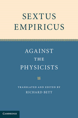 Sextus Empiricus: Against the Physicists (BOK)