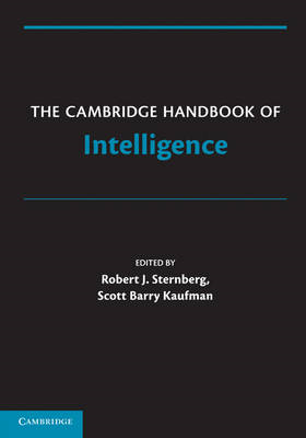 Cambridge Handbook of Intelligence (BOK)