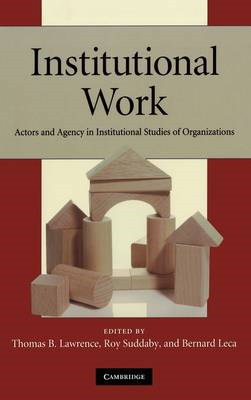 Institutional Work (BOK)