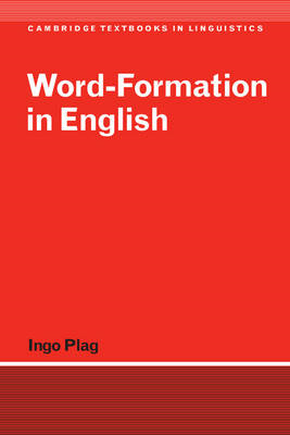 Word-Formation in English (BOK)