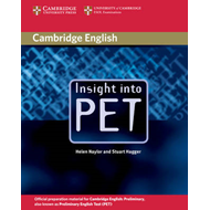 Insight into PET Student's Book without Answers (BOK)