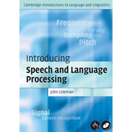 Introducing Speech and Language Processing (BOK)
