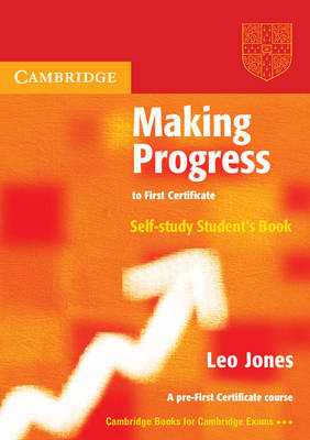 Making Progress to First Certificate Self Study Student's Book (BOK)