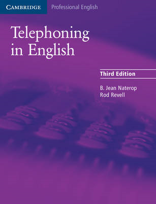 Telephoning in English Pupil's Book (BOK)