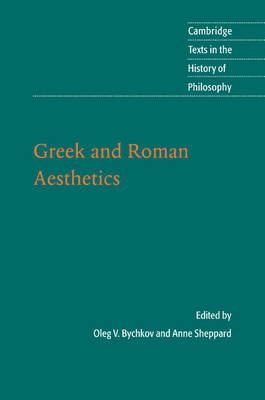 Greek and Roman Aesthetics (BOK)