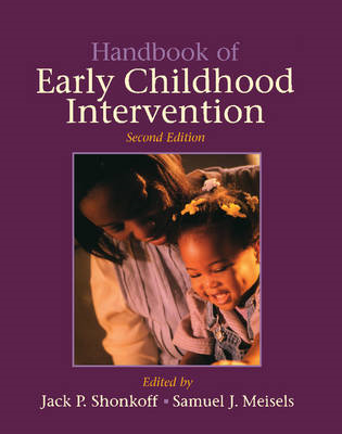Handbook of Early Childhood Intervention (BOK)