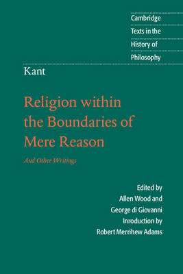 Kant: Religion within the Boundaries of Mere Reason (BOK)