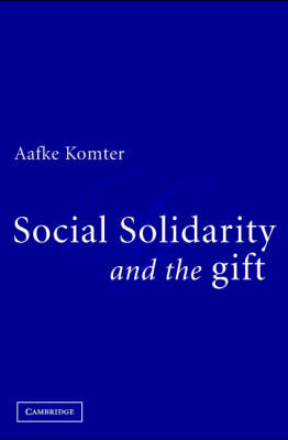 Social Solidarity and the Gift (BOK)