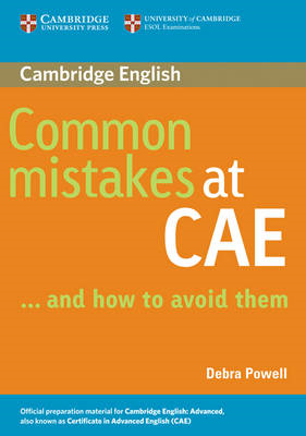 Common Mistakes at CAE...and How to Avoid Them (BOK)