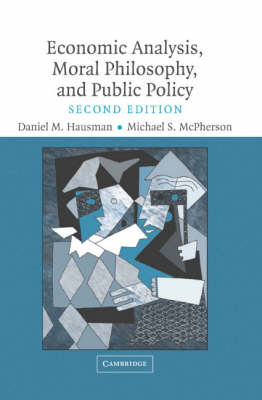 Economic Analysis, Moral Philosophy and Public Policy (BOK)