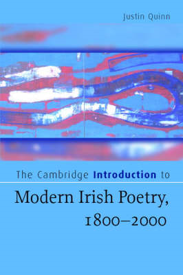 The Cambridge Introduction to Modern Irish Poetry, 1800-2000 (BOK)