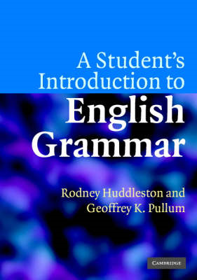 Student's Introduction to English Grammar (BOK)