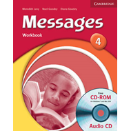 Messages 4 Workbook with Audio CD/CD-ROM (BOK)