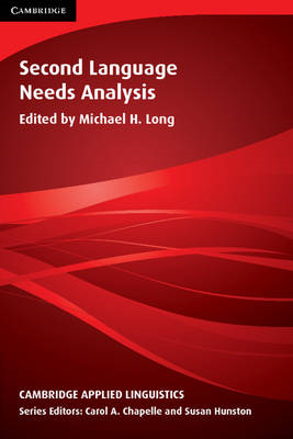 Second Language Needs Analysis (BOK)