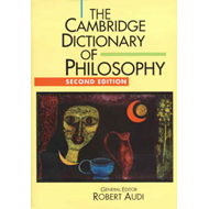 Cambridge Dictionary of Philosophy (BOK)