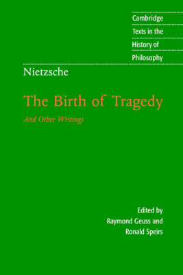 Nietzsche: The Birth of Tragedy and Other Writings (BOK)