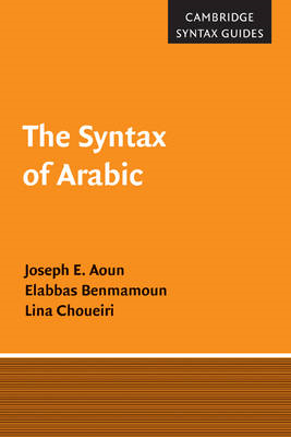 The Syntax of Arabic (BOK)