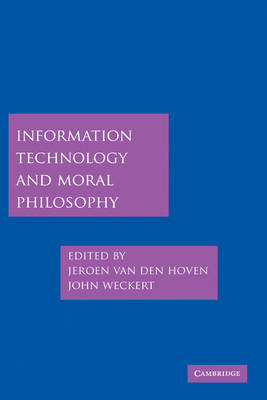 Information Technology and Moral Philosophy (BOK)