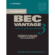 Cambridge BEC Vantage 3 Student's Book with Answers (BOK)