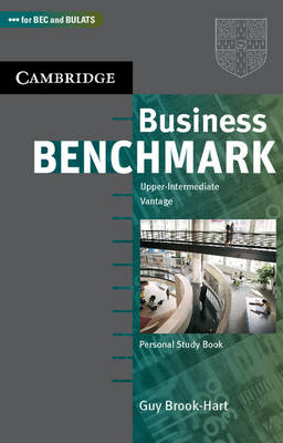 Business Benchmark Upper Intermediate Personal Study Book BEC and BULATS Edition (BOK)