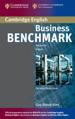 Business Benchmark Advanced Personal Study Book for BEC and BULATS (BOK)