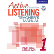 Active Listening 1 Teacher's Manual with Audio CD: Level 1 (BOK)