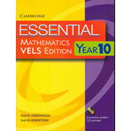 Essential Mathematics VELS Edition Year 10 Pack With Student Book, Student CD and Homework Book (BOK)