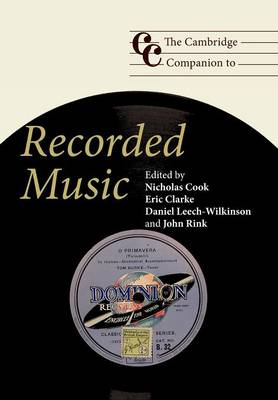 Cambridge Companion to Recorded Music (BOK)
