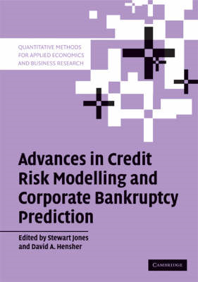 Advances in Credit Risk Modelling and Corporate Bankruptcy Prediction (BOK)
